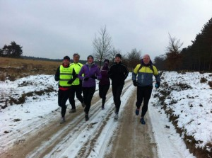 Trailrunnen in de winter